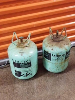 Used, 2 tanks r22 refrigerant 45pounds for just $375 dollars for Sale for sale  New York, NY