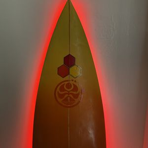 Surfboard With LED For Decoration for Sale in Gilbert, AZ