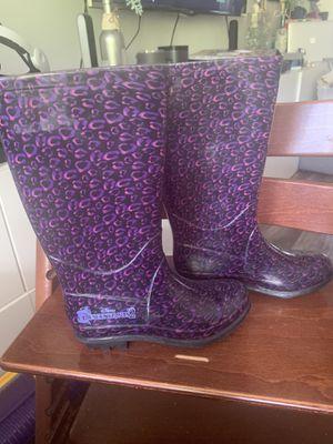 Descendants 2 Disney rain boots child kid size 13- excellent condition for Sale in Miami Beach, FL