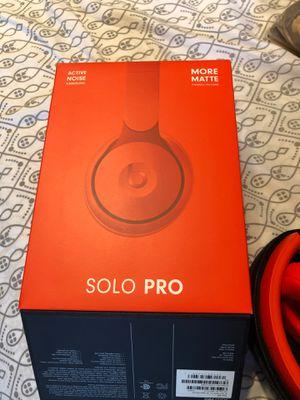 Beats Solo Pro Wireless Noise Canceling Headphones for Sale in Azalea Park, FL