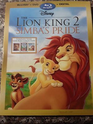 Brand new Blu-ray DVD the lion king 2 simba's pride collection for Sale in Cypress, TX