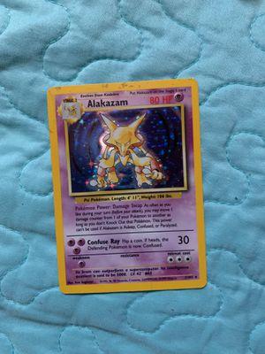 Pokemon Card - Alakazam - (1/102) Base Set Rare Holo ***EXC-NM*** for Sale in San Jose, CA