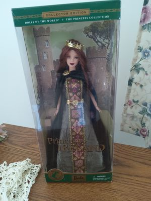 BARBIE....PRINCESS OF IRELAND- BRAND NEW WITH BOX for Sale in Ottawa, IL