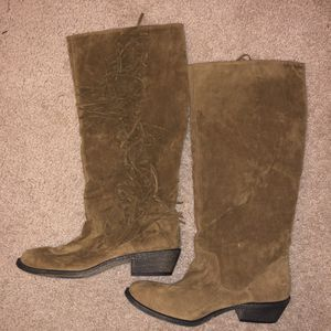Material Girl 9.5 boots never worn for Sale in Raleigh, NC