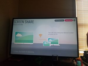 Lg 50 inch 4k smart TV for Sale in Obetz, OH