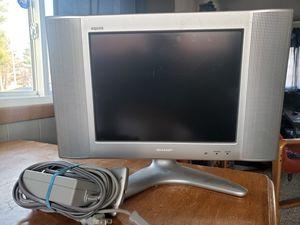 "13"" Sharp LCD tv for Sale in Traverse City, MI"