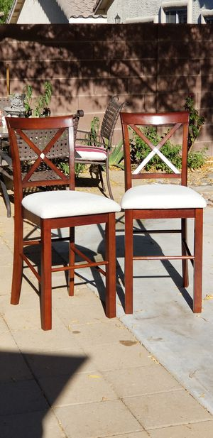 Bar height chair - Cherrywood for Sale in Las Vegas, NV