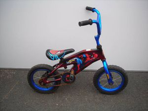 Spiderman 12 inch kids bike bicycle ages 2 to 7 working for Sale in Glendora, CA