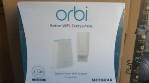 Orbi Wifi system plus extender wifi mesh for Sale in Los Angeles, CA
