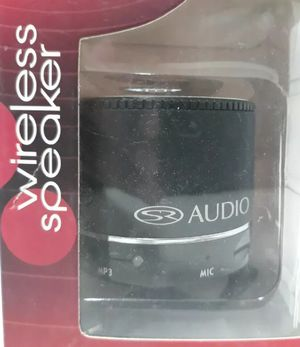 Solaray mini Bluetooth Speaker very loud w/ usb cable& 3.5 mm audio wire for Sale in Kingston, PA