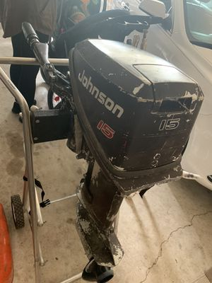 1991 Johnson 15HP Outboard for Sale in Motley, MN