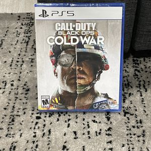 Ps5 Call Of Duty Cold War for Sale in Streamwood, IL