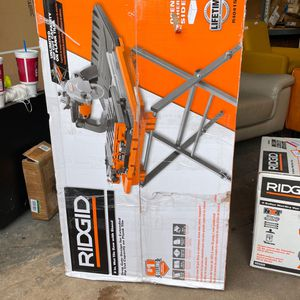 Ridgid 8 in. Wet Tile Saw With Stand for Sale in Phoenix, AZ