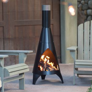 Chimnea Outdoor Patio Furniture Heater Flame for Sale in Port St. Lucie, FL