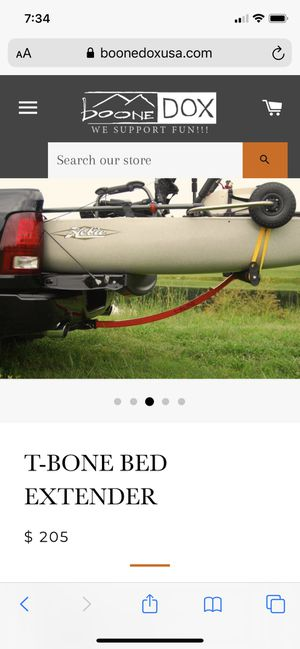 T-bone kayak canoe bed extender for Sale in Trinity, NC