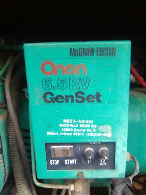Onan 6.5Rv Generator for Sale in Longview, TX