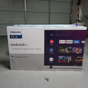 "BRAND NEW 43"" PHILLIPS SMART TV for Sale in Stone Mountain, GA"