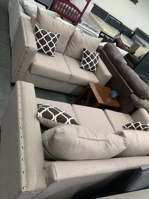 New sofa and love seat for $700 for Sale in Fort Worth, TX