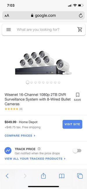 Security cameras Samsung for Sale in Hoffman Estates, IL
