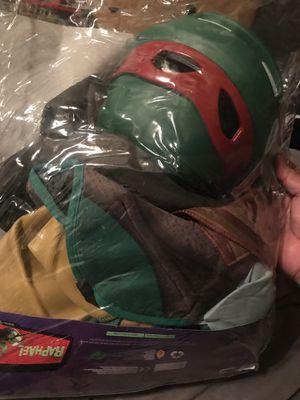 Halloween costume medium boys Raphael ninja turtles for Sale in Las Vegas, NV