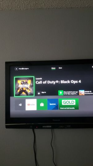 Panasonic TV and Xbox 1 combo for Sale in Austin, TX