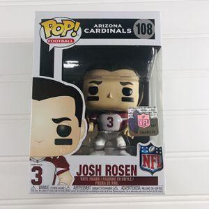 Funko Pop! Football NFL Draft Josh Rosen Arizona Cardinals Vinyl Toy Figure for Sale in Schertz, TX