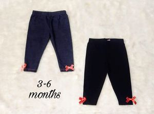 2 pair baby bow pants for Sale in Perris, CA