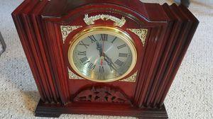 Cherry wood Decorative clock for Sale in Harrisonburg, VA