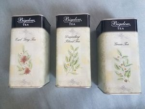 Set of 3 Bigelow Tea Storage Containers for Sale in San Pedro, CA