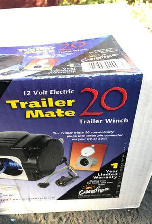 Trailer Mate 20 Powerwinch boat utility winch for Sale in Bellevue, WA