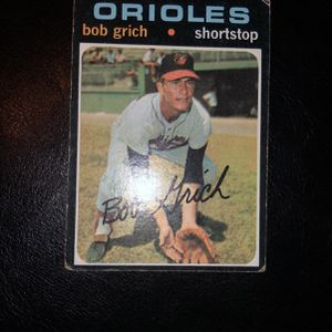 Bob Grich Baseball Card 193 for Sale in Ladera Ranch, CA