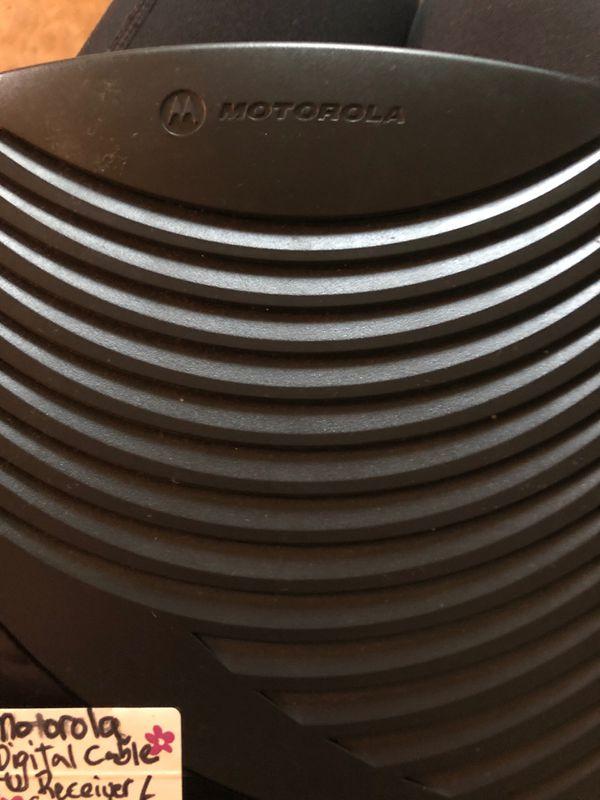 Motorola Digital Cable TV Receiver/Converter