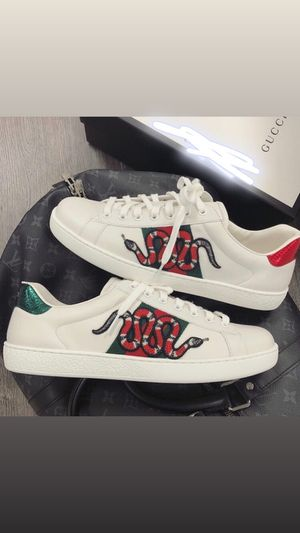 Gucci Ace Sneakers Snake size 10 for Sale in Columbus, OH