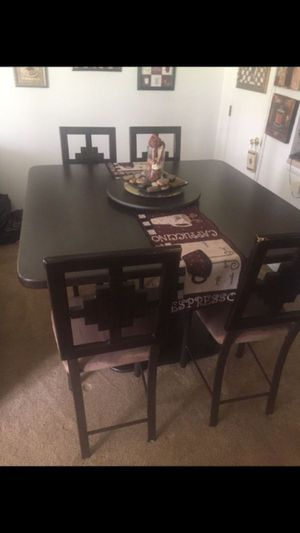 High Top Dining Set with Chairs for Sale in SEATTLE, WA