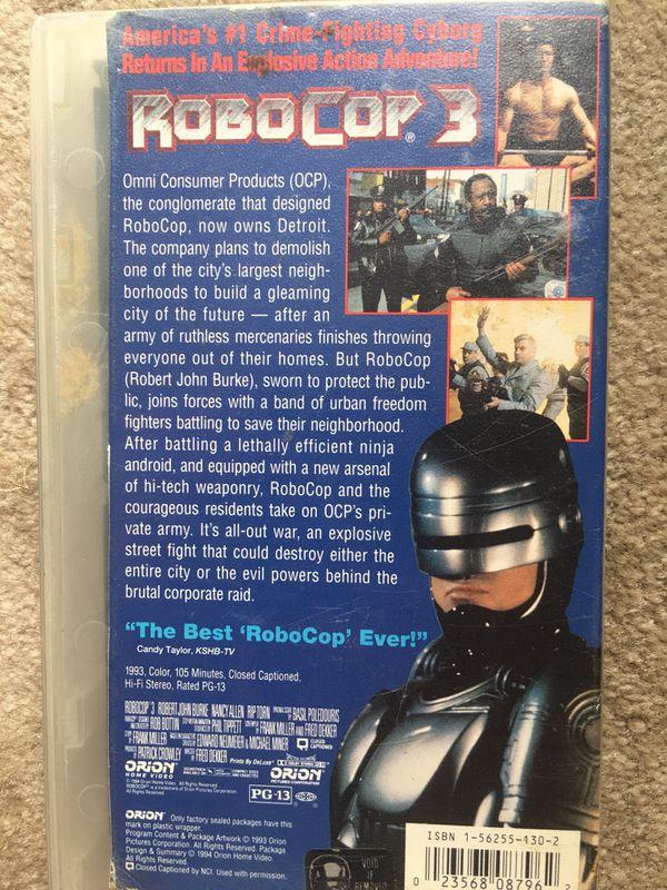 Robocop 3 (VHS)