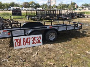 "Brand New 16'x76"" Trailer for Sale in Houston, TX"