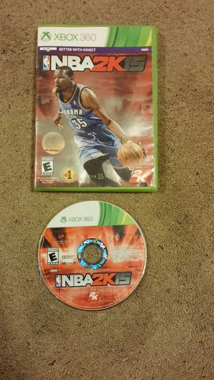 NBA 2K 15 xbox 360 game for Sale in Pittsburgh, PA