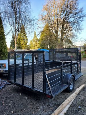 12 ft Landscape trailer for Sale in Tigard, OR
