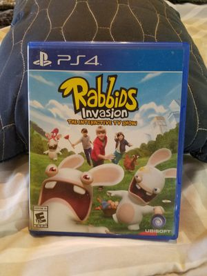 Rabbids invasion ps4 for Sale in Murray, KY