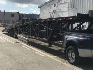 Ford 350 7.3 más trailer de 4 carros for Sale in Opa-locka, FL