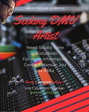 Above The Line Studio DC for Sale in Washington, DC