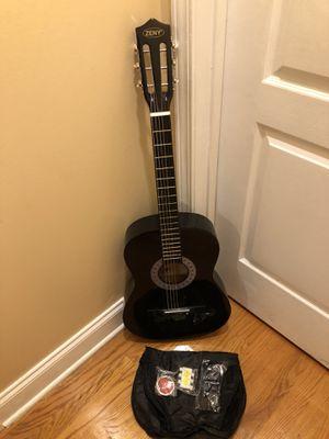 Acoustic Guitar Black for Sale in Elizabeth, NJ