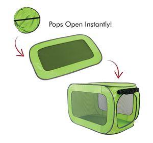 "Pop-open green soft kennel 32""L for Sale in Melbourne, FL"