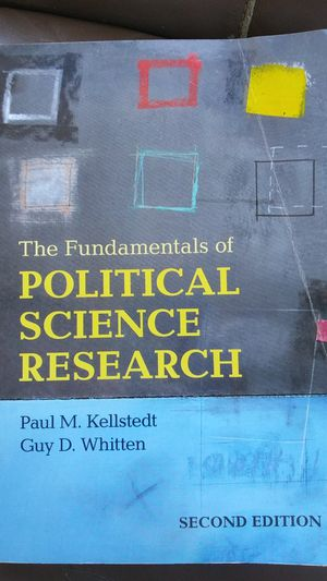 The Fundamentals of Political Science Research by Paul M. Kellstedt, Guy D. Whitten for Sale in Irvine, CA