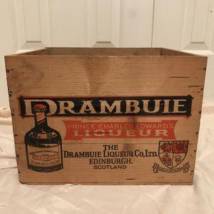 Vintage Drambuie Liqueur Crate for Sale in Murfreesboro, TN