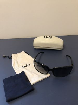 Dolce and Gabanna sunglasses with case for Sale in Takoma Park, MD