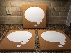 "Three 14"" x 14"" Dry Erase Wall Boards for Sale in Smyrna, TN"