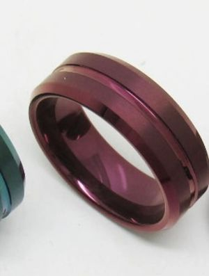 Tungsten Carbide Ring - Size 10.5, Red for Sale in Newburgh, ME