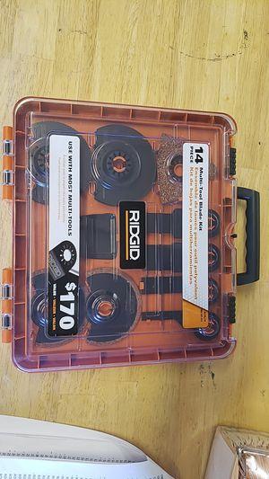 Ridgid blade kit for Sale in Las Vegas, NV