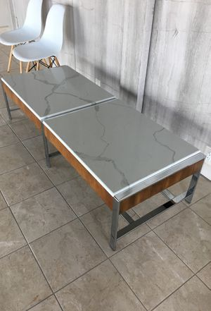 Quartz marble look coffee table for Sale in Sterling, VA